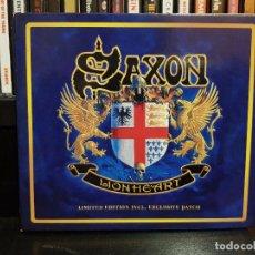 CDs de Música: SAXON - LIONHEART - LIMITED EDITION. Lote 96178127