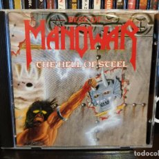 CDs de Música: MANOWAR - THE HELL OF STEEL. Lote 96209295