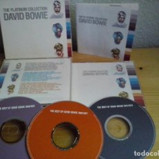 CDs de Música: CD MUSICA : DAVID BOWIE - THE PLATINUM COLLECTION TRIPLE CD (ABLN). Lote 96236159