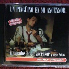 CDs de Música: UN PINGÜINO EN MI ASCENSOR (ATRAPADOS EN EL ASCENSOR Y OTROS EXITOS) CD 2001 SERIE DIFUSIÓN. Lote 96272879