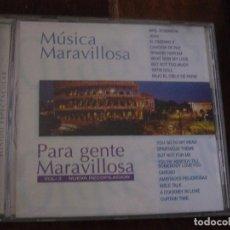 CDs de Música: MUSICA MARAVILLOSA PARA GENTE MARAVILLOSA. VOL. 3. NUEVA RECOPILACION. CD HORUS 1997. Lote 96285775