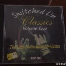 CDs de Música: SWITCHED ON CLASSICS VOLUME TWO. THE NEON PHILHARMONIC ORCHESTRA. DISC ONE. CD TRING INTERNATIONAL. Lote 96287967