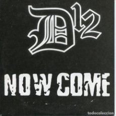 CDs de Música: D12 / NOW COME - 3 VERSIONES (CD SINGLE CARTON PROMO 2004). Lote 96293727