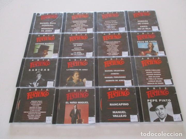 VV. AA. ARTE FLAMENCO. LOTE DE CUARENTA Y NUEVE CD-ROM. RMT82565. (Música - CD's Flamenco, Canción española y Cuplé)