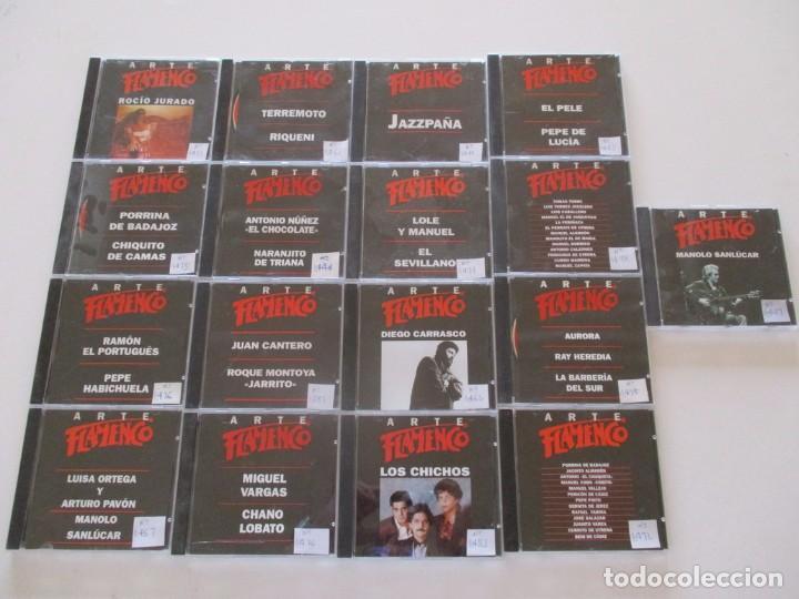 CDs de Música: VV. AA. Arte Flamenco. LOTE DE CUARENTA Y NUEVE CD-ROM. RMT82565. - Foto 3 - 162099276