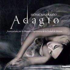 CDs de Música: MONICA NARANJO ADAGIO CD Y DVD. Lote 96316907