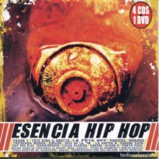 CDs de Música: ESENCIA HIP HOP (VARIOS) CD SINGLE CARTON 2003 - 3 TEMAS (PAYO MALO-EL JEFE DE LA M-CLOAKA COMPANY). Lote 96319991