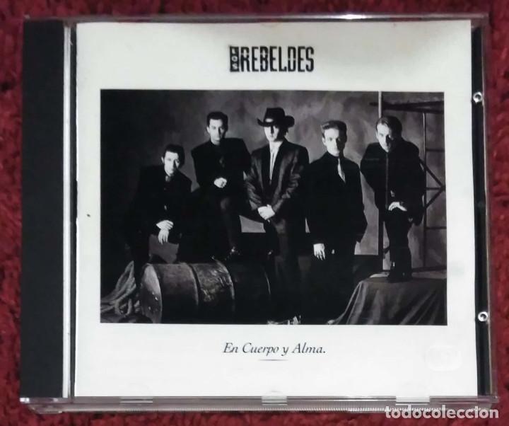 LOS REBELDES (EN CUERPO Y ALMA) CD 1990 (Música - CD's Rock)