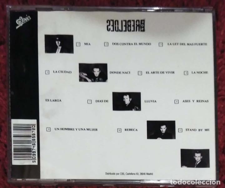 CDs de Música: LOS REBELDES (EN CUERPO Y ALMA) CD 1990 - Foto 2 - 96337879