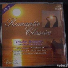 CDs de Música: ROMANTIC CLASSICS. TENDER MOMENTS. CD 3. EDICION ALEMANA. Lote 96354391