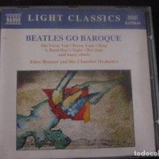 CDs de Música: BEATLES GO BAROQUE. PETER BREINER AND HIS CHAMBER ORCHESTRA. CD LIGHT CLASSICS NAXOS. (#). Lote 96382707