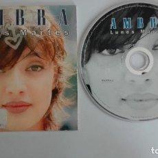 CDs de Música: CD PROMO AMBRA LUNES MARTES TÁPPARTENGO REMIX DE EMISORA DE RADIO. Lote 96417087