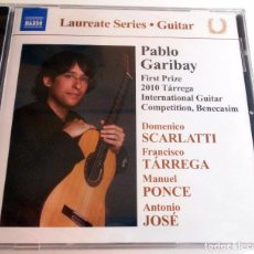 CDs de Música: LOTE 2 CD,S SERIES GUITAR ADRIANO DEL SAL PABLO GARIBAY TÁRREGA MORRICONE PONCE. Lote 96422803