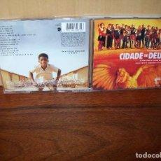 CIDADE DE DEUS - MUSICA DE ANTONIO PINTO Y ED CORTES - CD BSO BANDA SONORA ORIGINAL
