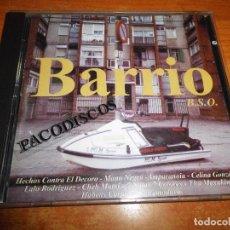CDs de Música: BARRIO BANDA SONORA CD ALBUM AMPARANOIA MANO NEGRA HECHOS CONTRA EL DECORO EXTREMODURO 22 TEMAS. Lote 96459083