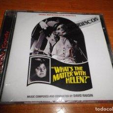 CDs de Música: WHAT´S THE MATTER WITH HELEN? BANDA SONORA DE DAVID RAKSIN CD ALBUM PRECINTADO 17 TEMAS MUY RARO. Lote 96460551