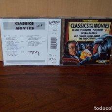 CDs de Música: CLASSICS GO TO MOVIES - BANDAS SONORAS DIFERENTES -CD VOLUMEN 3. Lote 96486543