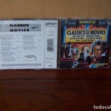 CDs de Música: CLASSICS GO TO MOVIES - BANDAS SONORAS DIFERENTES -CD VOLUMEN 1. Lote 96486587