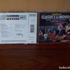 CDs de Música: CLASSICS GO TO MOVIES - BANDAS SONORAS DIFERENTES -CD VOLUMEN 2. Lote 96486647