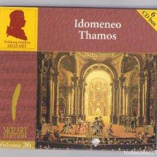 CDs de Musique: MOZART - IDOMENEO THAMOS (6CD BOX, BRILLANT CLASSICS 99738, VOL.26). Lote 96493035