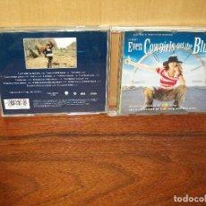 CDs de Música: EVEN COWGIRLS GET THE BLUES - MUSICA DE K.D.LANG Y BEN MINK - CD BSO BANDA SONORA ORIGI. Lote 96507539