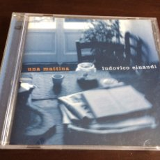 CDs de Música: CD LUDOVICO EINAUDI - UNA MATTINA. Lote 96525848
