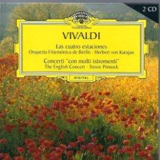 CDs de Música: VE15- DISCO-LIBRO DE 48 PAGS.Y 2 CDS. - VIVALDI - LAS CUATRO ESTACIONES. Lote 96543299