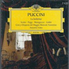 CDs de Música: VE15- DISCO-LIBRO DE 48 PAGS.Y 2 CDS. - PUCCINI - LA BOHEME ESTA PRECINTADO NUEVO. Lote 96543599