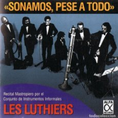 CDs de Música: CD LES LUTHIERS ¨SONAMOS,PESE A TODO¨. Lote 96573015