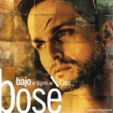 CDs de Música: CD MIGUEL BOSÉ ¨BAJO EL SIGNO DE CAÍN¨. Lote 96573323