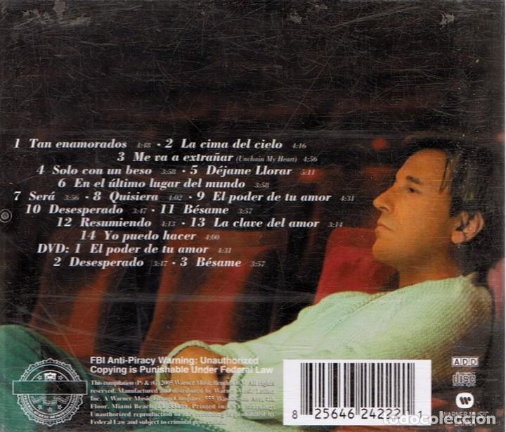 CDs de Música: CD LO MEJOR DE RICARDO MONTANER ( CD + DVD) - Foto 2 - 96573527