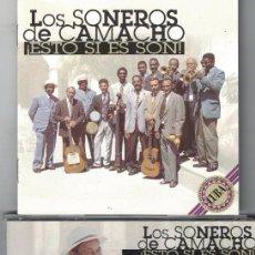 CDs de Música: LOS SONEROS DE CAMACHO - ESTO SI ES SON (CD SPAIN, EURO TROPICAL 1997). Lote 96579303