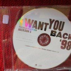CDs de Música: MICHAEL JACKSON FEATURING JACKSON FIVE+ I WANT YOU BACK 98 . Lote 96597575