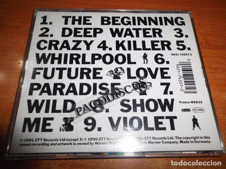 CDs de Música: SEAL CD ALBUM DEL AÑO 1991 ALEMANIA INCLUYE FUTURE LOVE PARADISE CRAZY KILLER CONTIENE 9 TEMAS - Foto 2 - 96626139