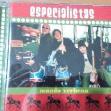 CDs de Música: ESPECIALISTAS MUNDO VERBENA CD. Lote 96635563