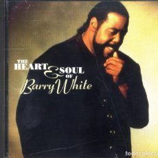 CDs de Música: BARRY WHITE THE HEART & SOUL OF CD NUEVO. Lote 96656087