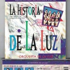 CDs de Musique: ORQUESTA DE LA LUZ - LA HISTORIA DE LA LUZ (CD SPAIN, ARIOLA 1993). Lote 96661687