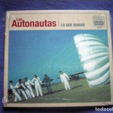 CDs de Música: CD LOS AUTONAUTAS LO QUE QUIERO 2012 AUDIOMATIC PRECINTADO. Lote 96674255