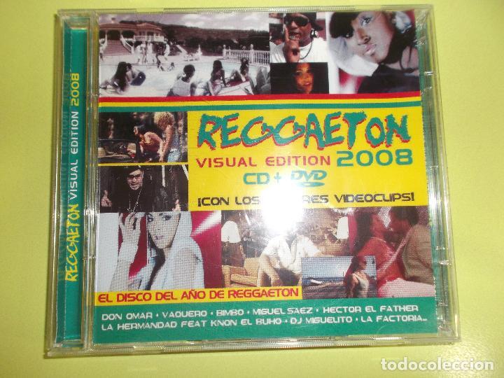 REGGAETON VISUAL EDITION 2008 1 CD Y 1 DVD (Música - CD's Latina)