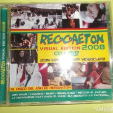 CDs de Música: REGGAETON VISUAL EDITION 2008 1 CD Y 1 DVD. Lote 96675351