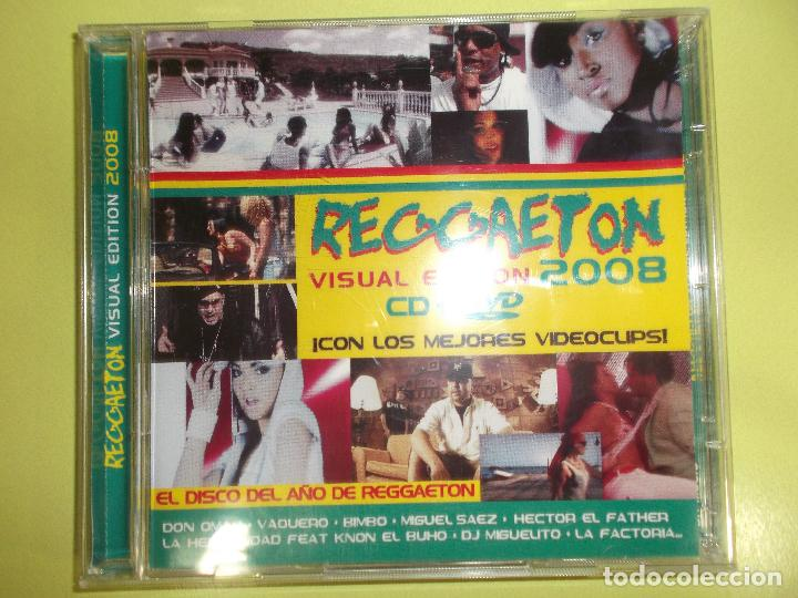 CDs de Música: REGGAETON VISUAL EDITION 2008 1 CD Y 1 DVD - Foto 4 - 96675351