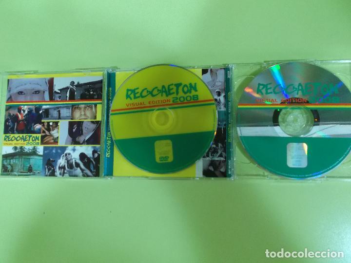 CDs de Música: REGGAETON VISUAL EDITION 2008 1 CD Y 1 DVD - Foto 5 - 96675351