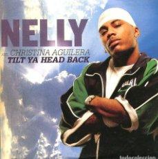 CDs de Música: NELLY CON CHRISTINA AGUILERA / TILT YA HEAD BACK (CD SINGLE CARTON PROMO 2004). Lote 96685003