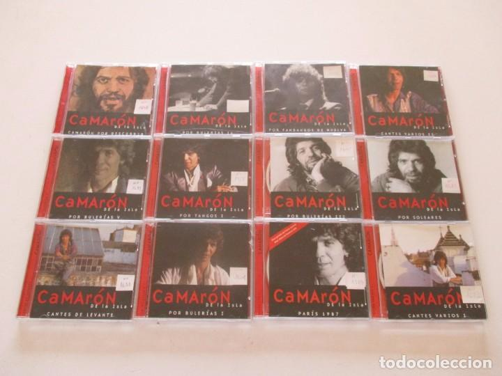 CAMARÓN DE LA ISLA. LOTE DE VEINTIDOS CD. RMT82680. (Música - CD's Flamenco, Canción española y Cuplé)