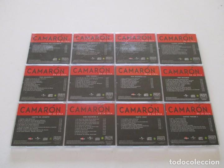 CDs de Música: Camarón de la Isla. LOTE DE VEINTIDOS CD. RMT82680. - Foto 2 - 206925662