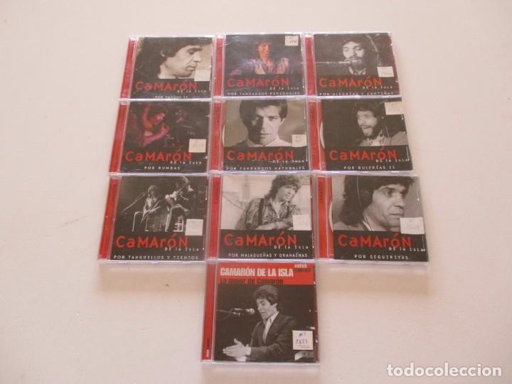 CDs de Música: Camarón de la Isla. LOTE DE VEINTIDOS CD. RMT82680. - Foto 3 - 206925662