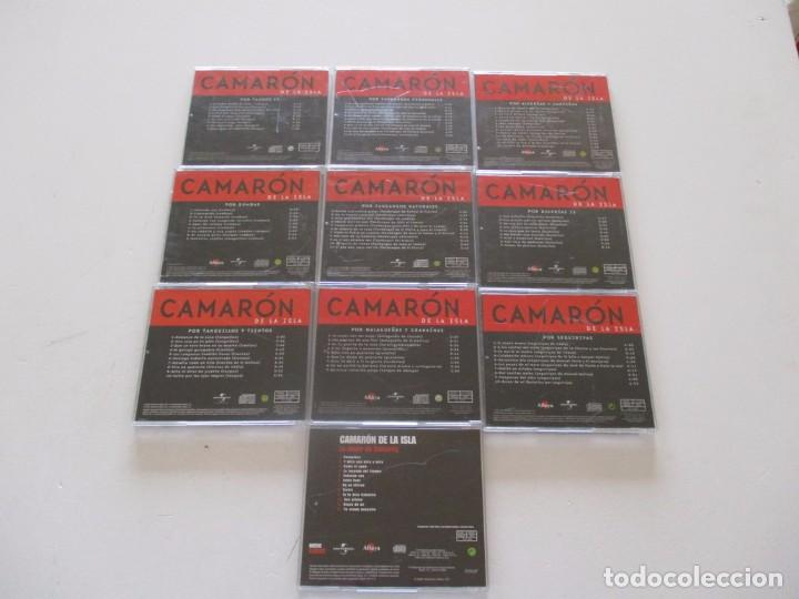 CDs de Música: Camarón de la Isla. LOTE DE VEINTIDOS CD. RMT82680. - Foto 4 - 206925662