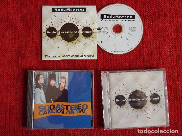 SODA STEREO +3 DISCOS+ ROCK ARGENTINO (Música - CD's Latina)