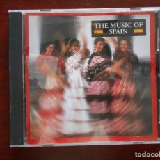 CDs de Música: CD THE MUSIC OF SPAIN - VARIOUS ARTISTS (3B). Lote 96787487