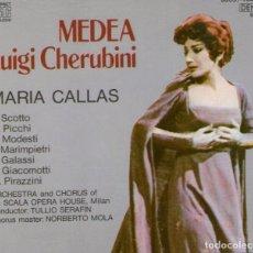 CDs de Música: DOBLE CD + LIBRETO: MEDEA - DE LUIGI CHERUBINI - CON MARÍA CALLAS - DENON / NIPPON COLUMBIA 1985. Lote 96793955